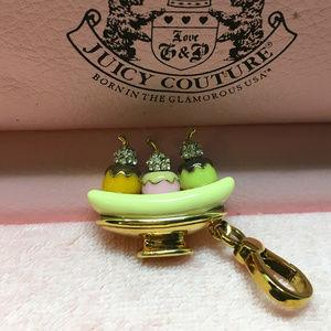 Juicy Couture Banana Split Enamel Bracelet Charm